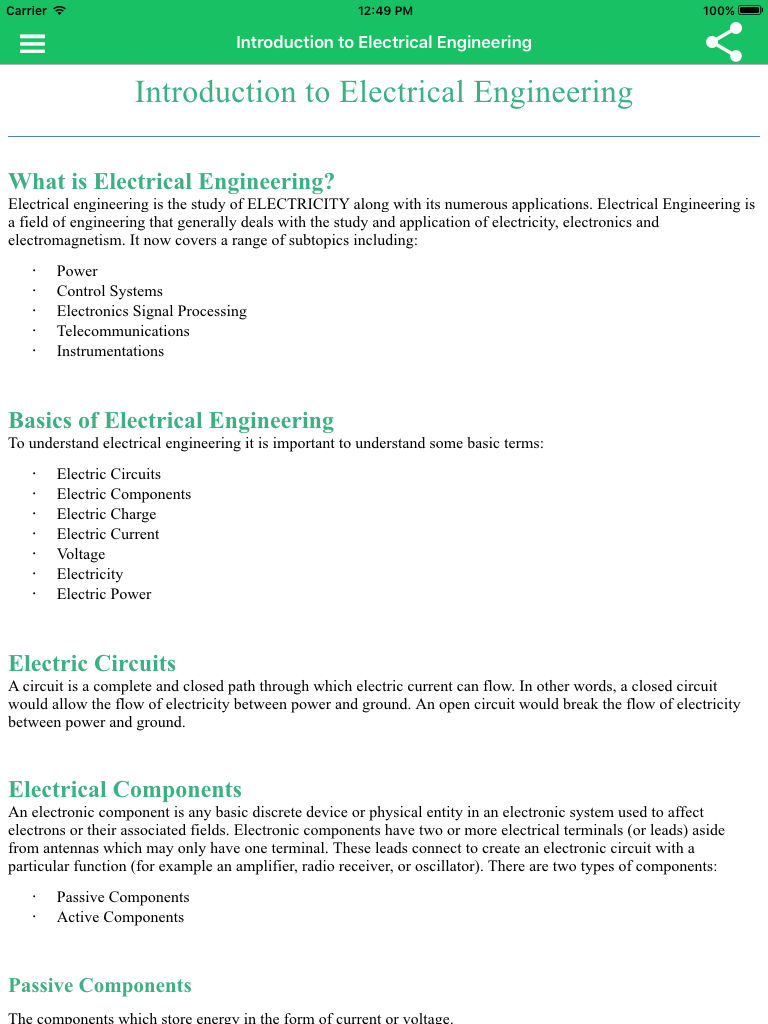 Learn Electronics Full App Ranking And Store Data Annie For Electric Circuits Electrical Engineering Description
