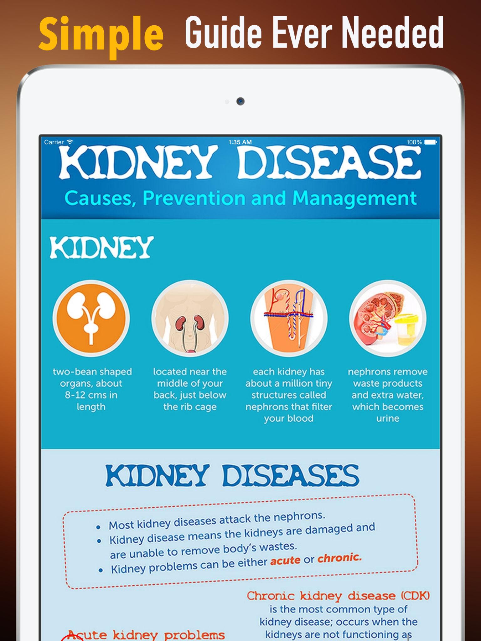Kidney Disease 101:KIdney Stones,Healthy Diet and Chronic