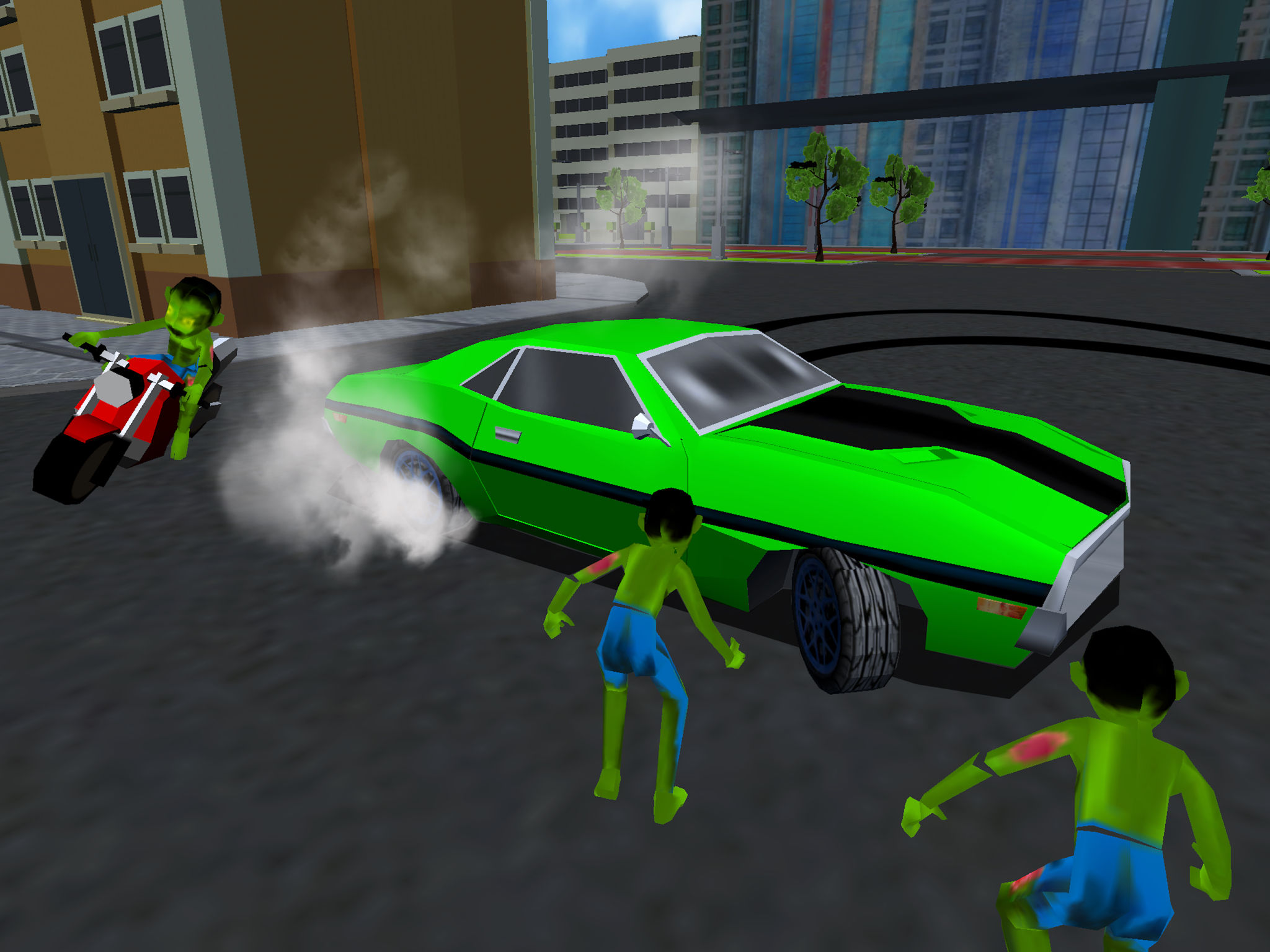 Drift Cars Vs Zombies Kill Extreme Undead In This Apocalypse