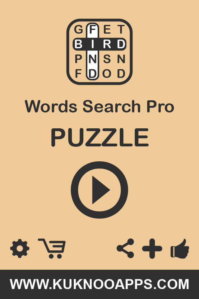 Word Search Pro words finder Puzzle App Ranking and Store