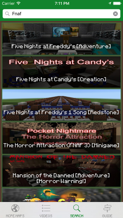 Horror Maps For Minecraft PE Best Database The Scariest Maps For - Minecraft maps 1 11 2 horror
