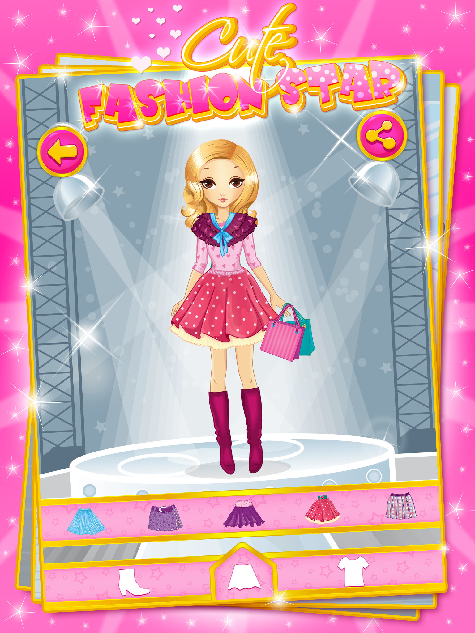 Fashion games for girls and kids 80