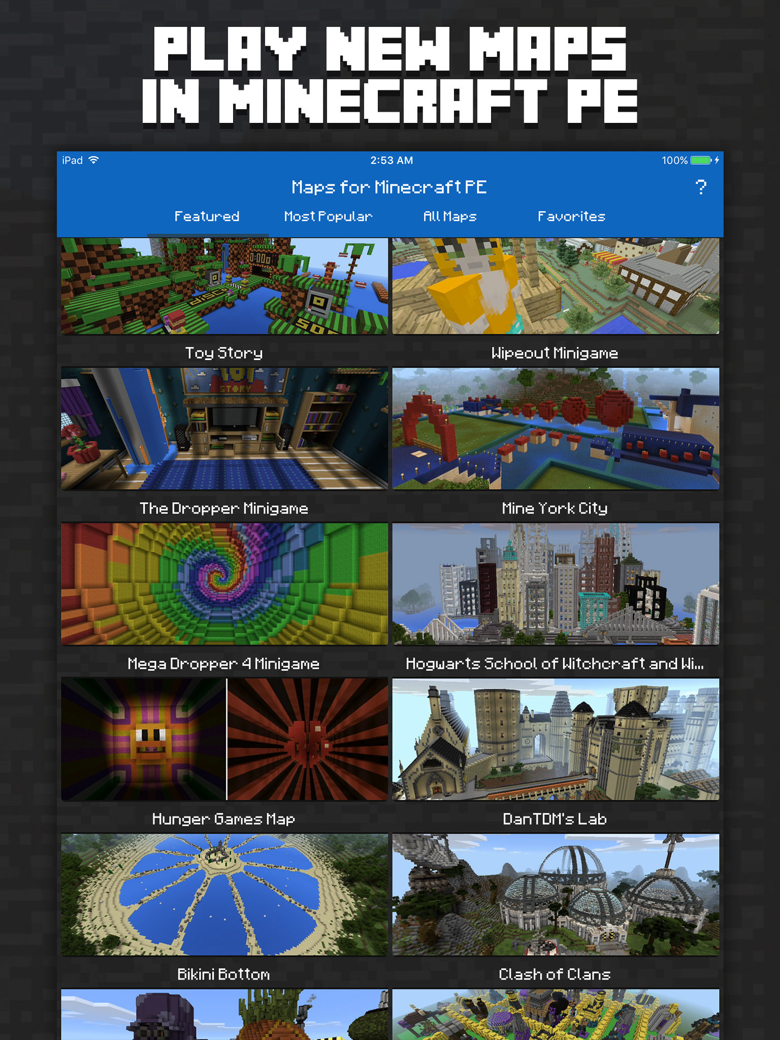 Stampy World Map.Maps For Minecraft Pe Minecraft Maps App Ranking And Store Data