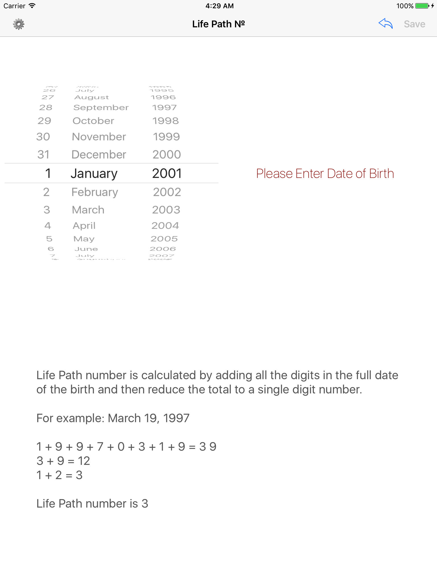Life Path № - Life Path Number Calculator App Ranking and Store Data
