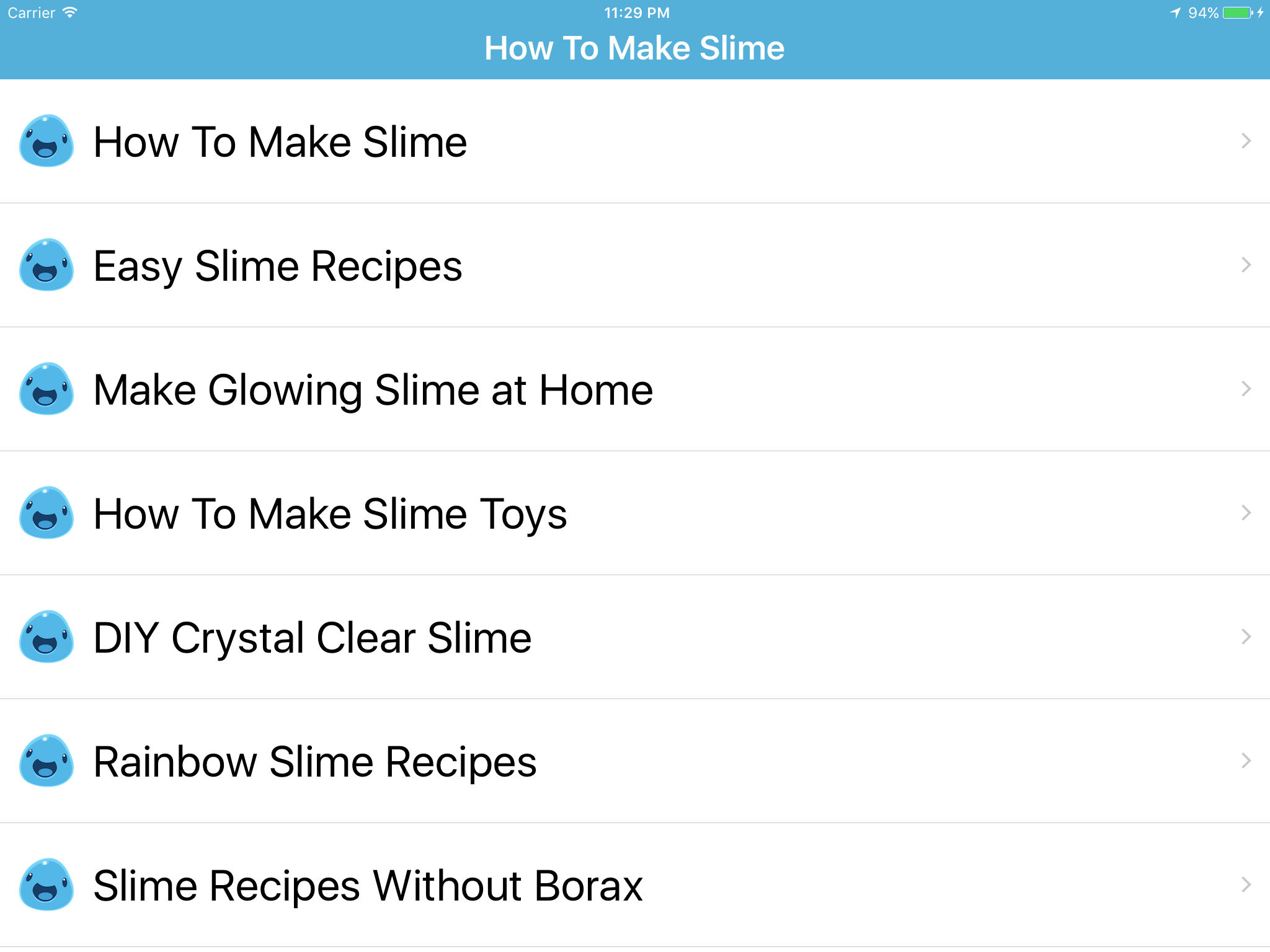 How to make slime slime making app ranking and store data app annie app description ccuart Images