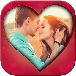 New romantic love photo frames - Photo editor App Ranking and Store
