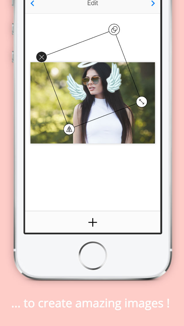 Photo Booth Heart Effect App to Photos - Crownify App