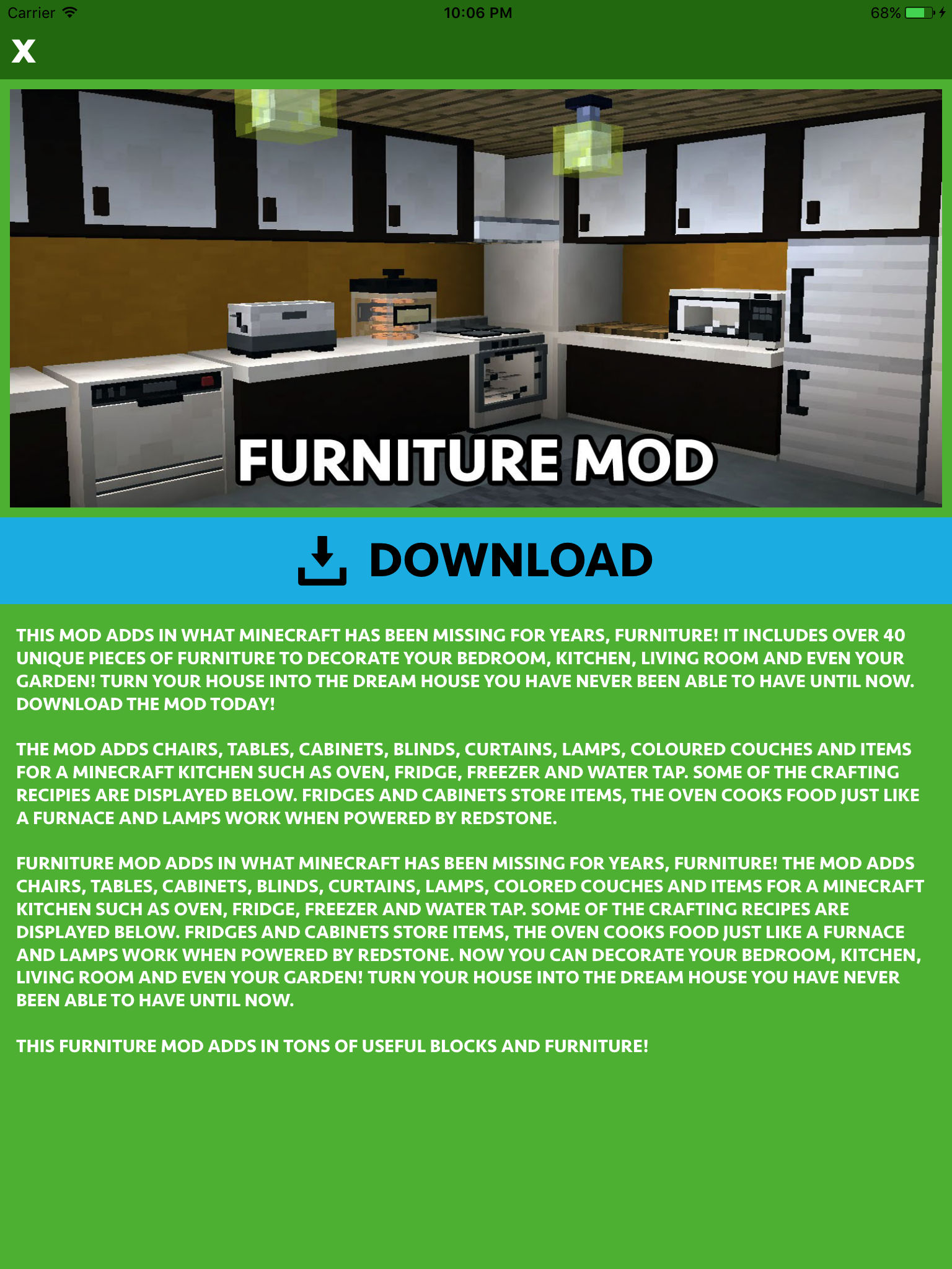 furniture mods for minecraft pc app ranking and store data app annie