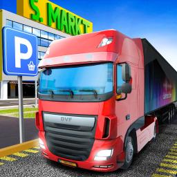Pièces Gratuites Delivery Truck Driver Highway Ride Simulator