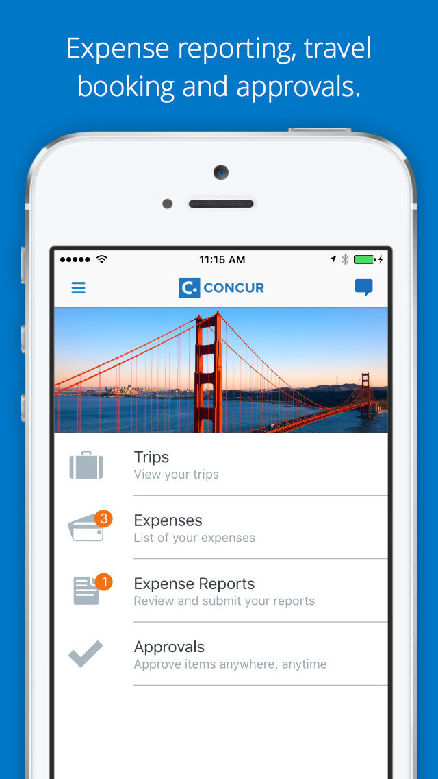 Concur  Travel Receipts Expense Reports App Ranking And Store