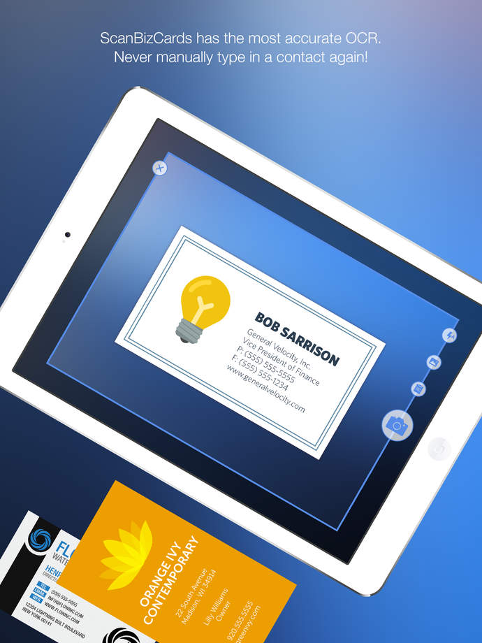 ScanBizCards Business Card Reader App Ranking and Store