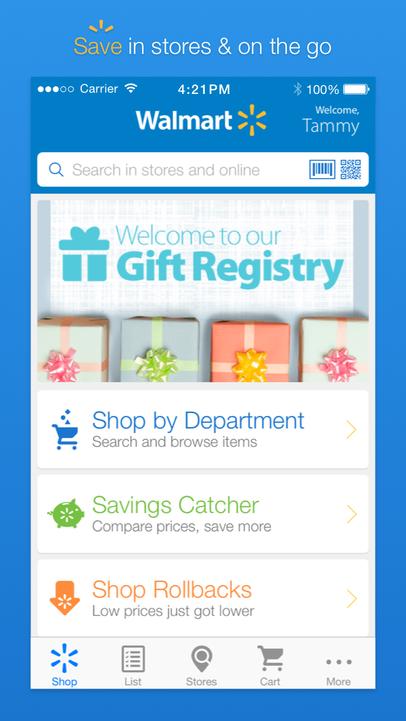 Publisher walmart unified app walmart 3 apps app franchise n a