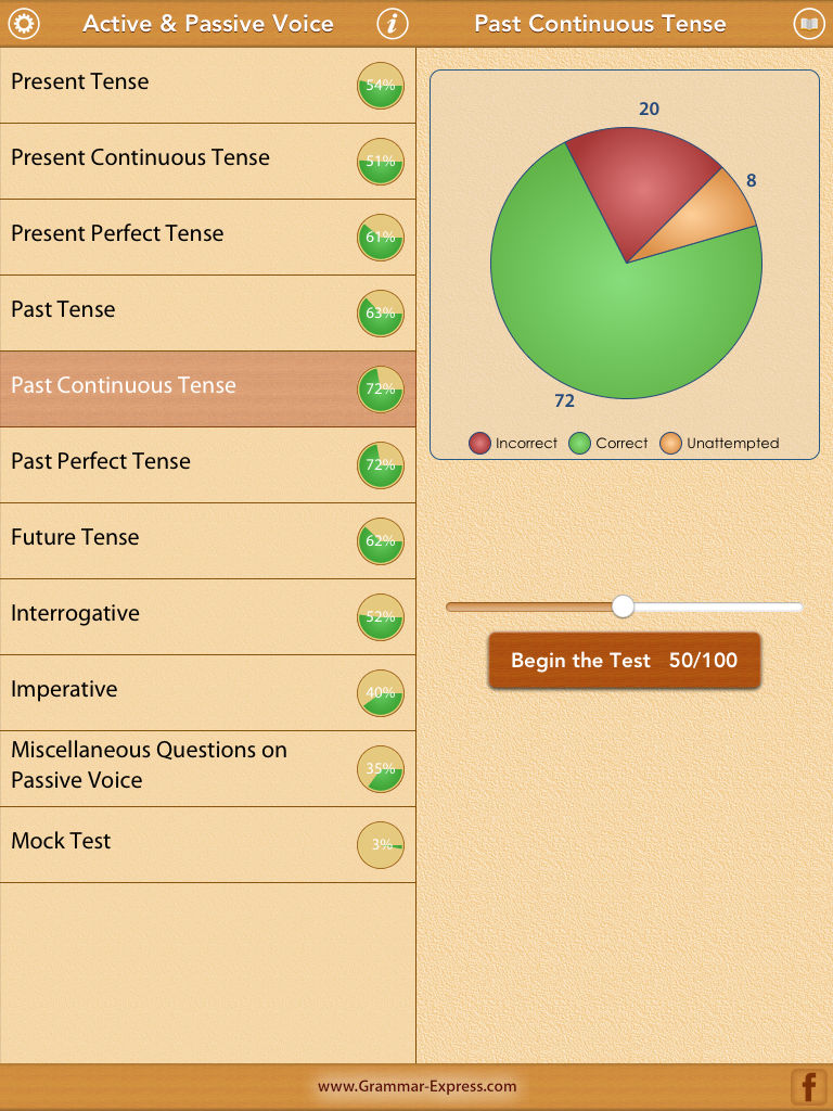 Worksheets 1000 Active Passive Sentences grammar express active passive voice app ranking and store data description