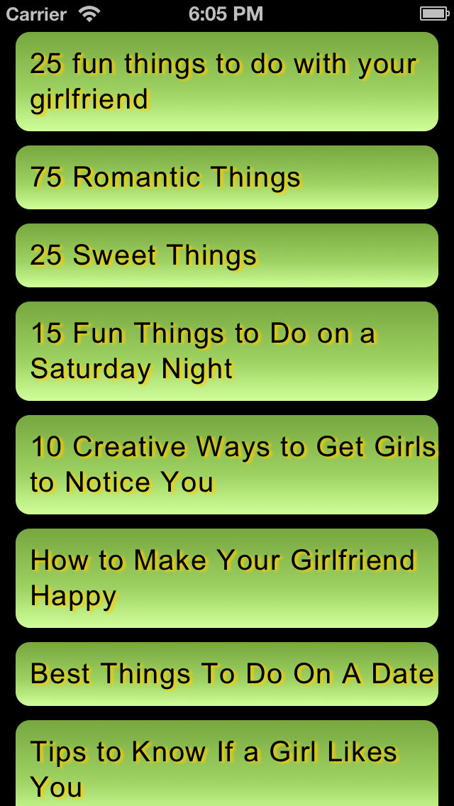 Fun Cheaply Things To Do With Your Girlfriend