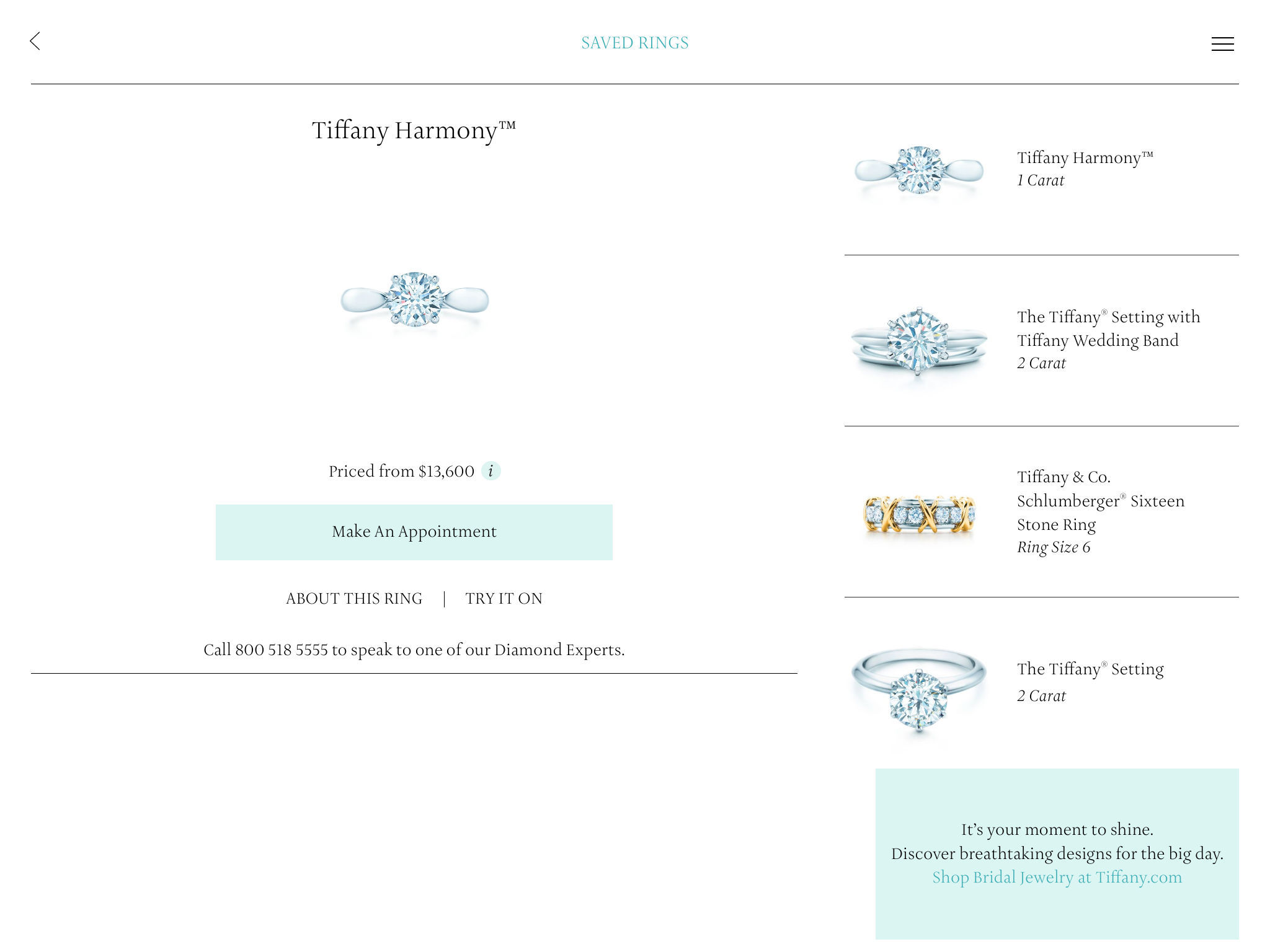 Tiffany Co Engagement Ring Finder App Ranking and Store Data