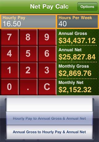 Hourly to salary wage calculator omni.
