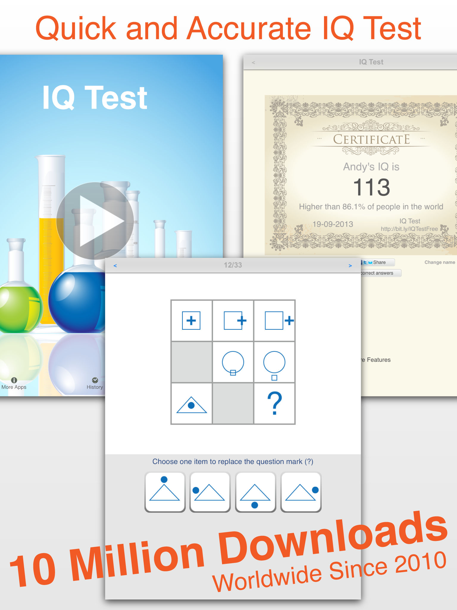 IQ Test Pro - Answers Provided App Ranking and Store Data | App Annie