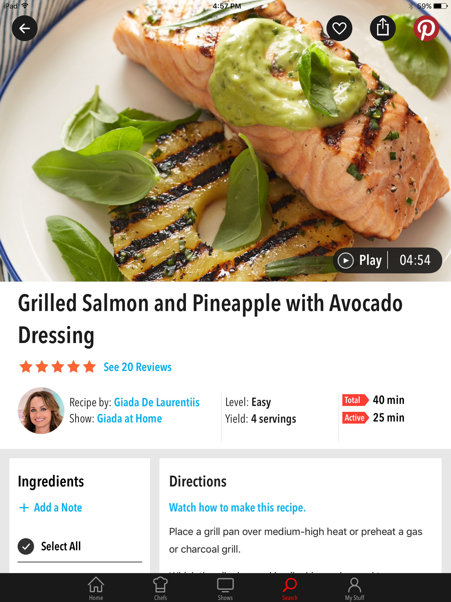 Food Network In the Kitchen App Ranking and Store Data | App Annie
