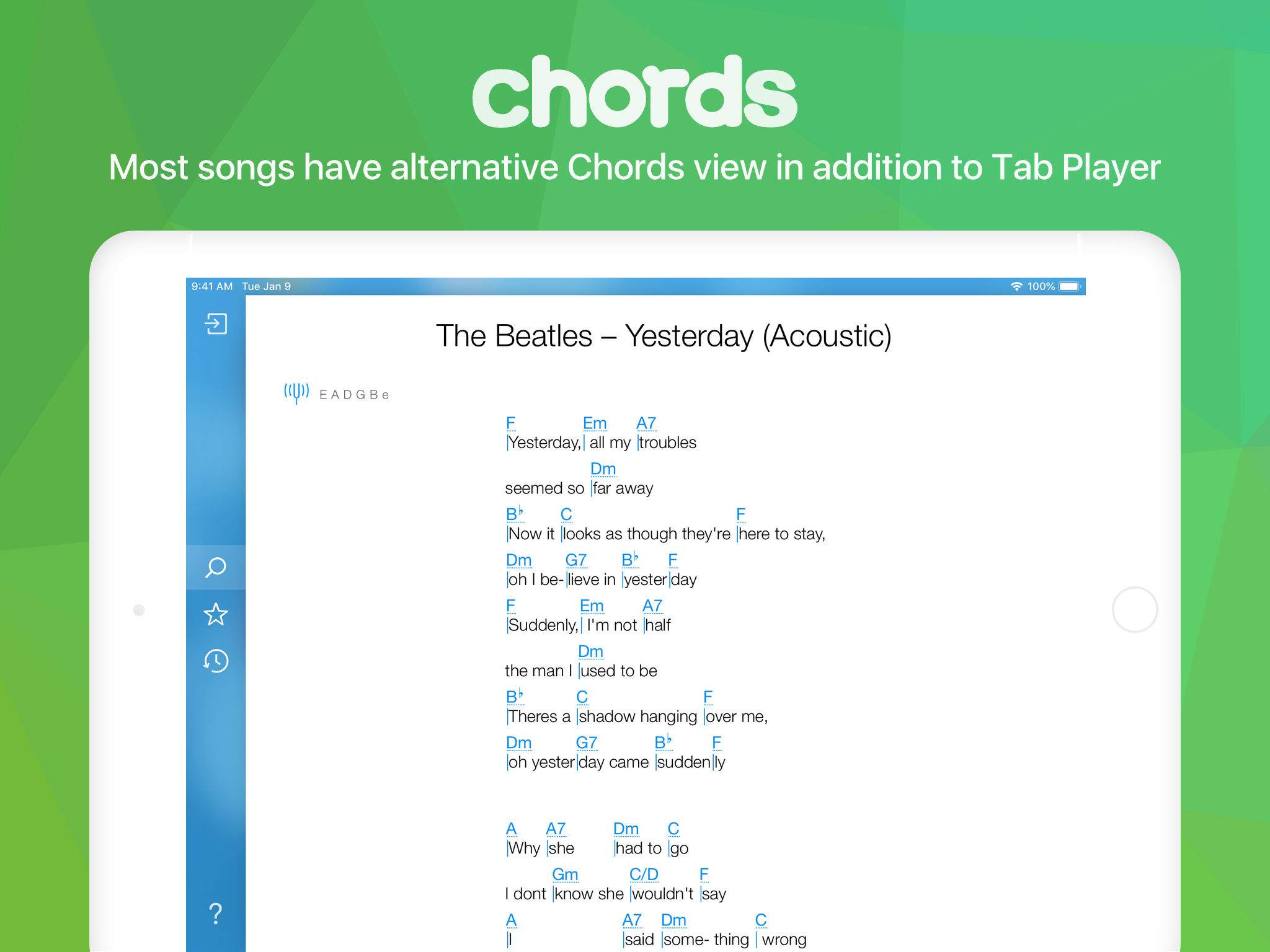 Songsterr Tabs & Chords App Ranking and Store Data | App Annie