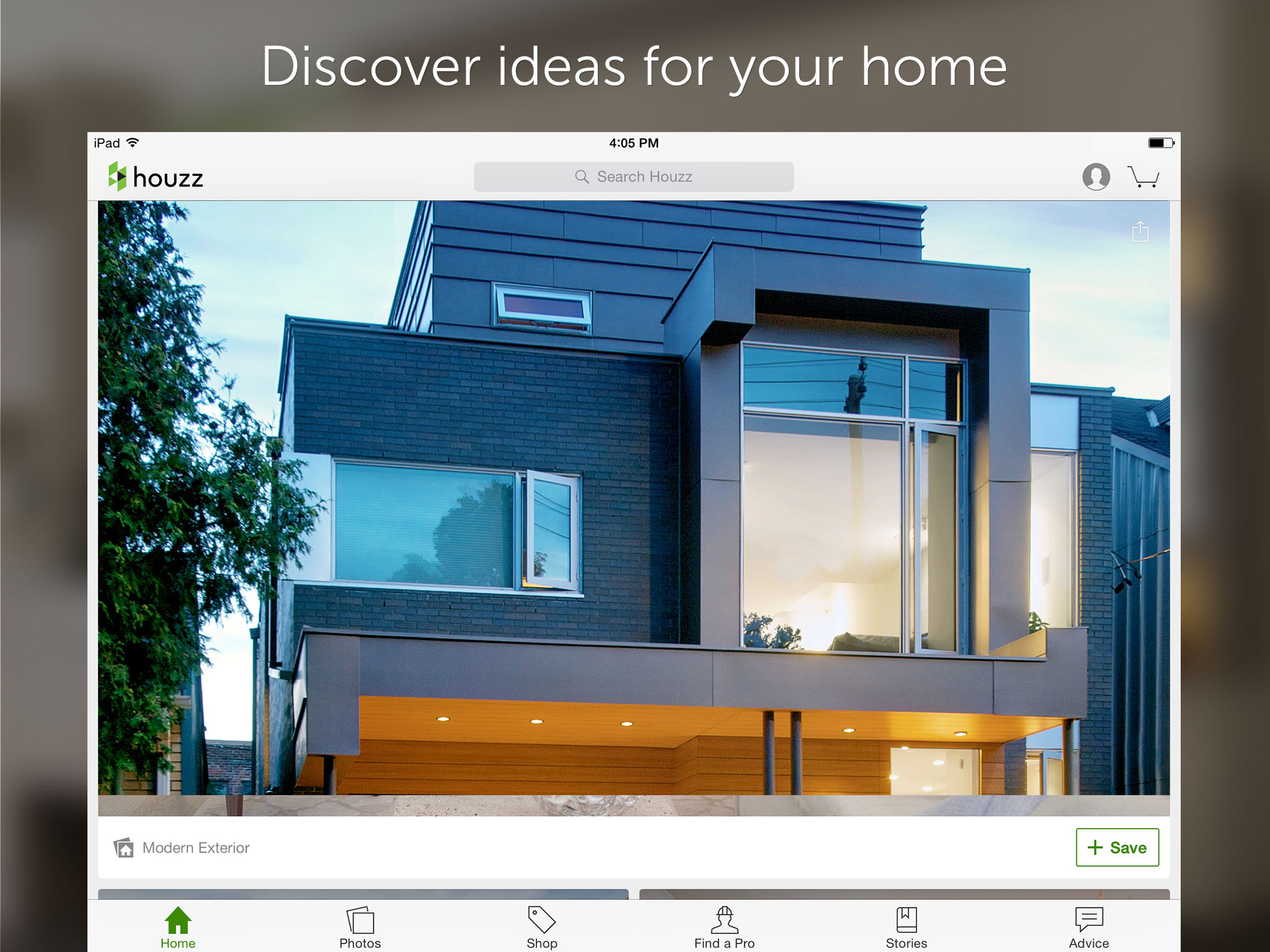 app description - Houzz Interior Design Ideas