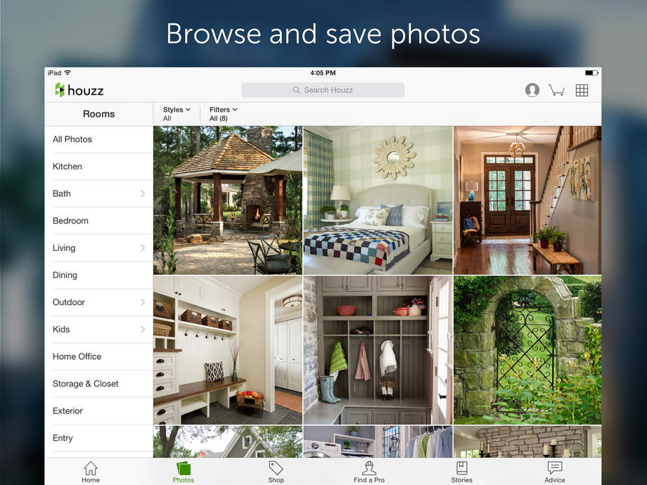 Houzz Interior Design Ideas IOS Store Store Top Apps App Annie