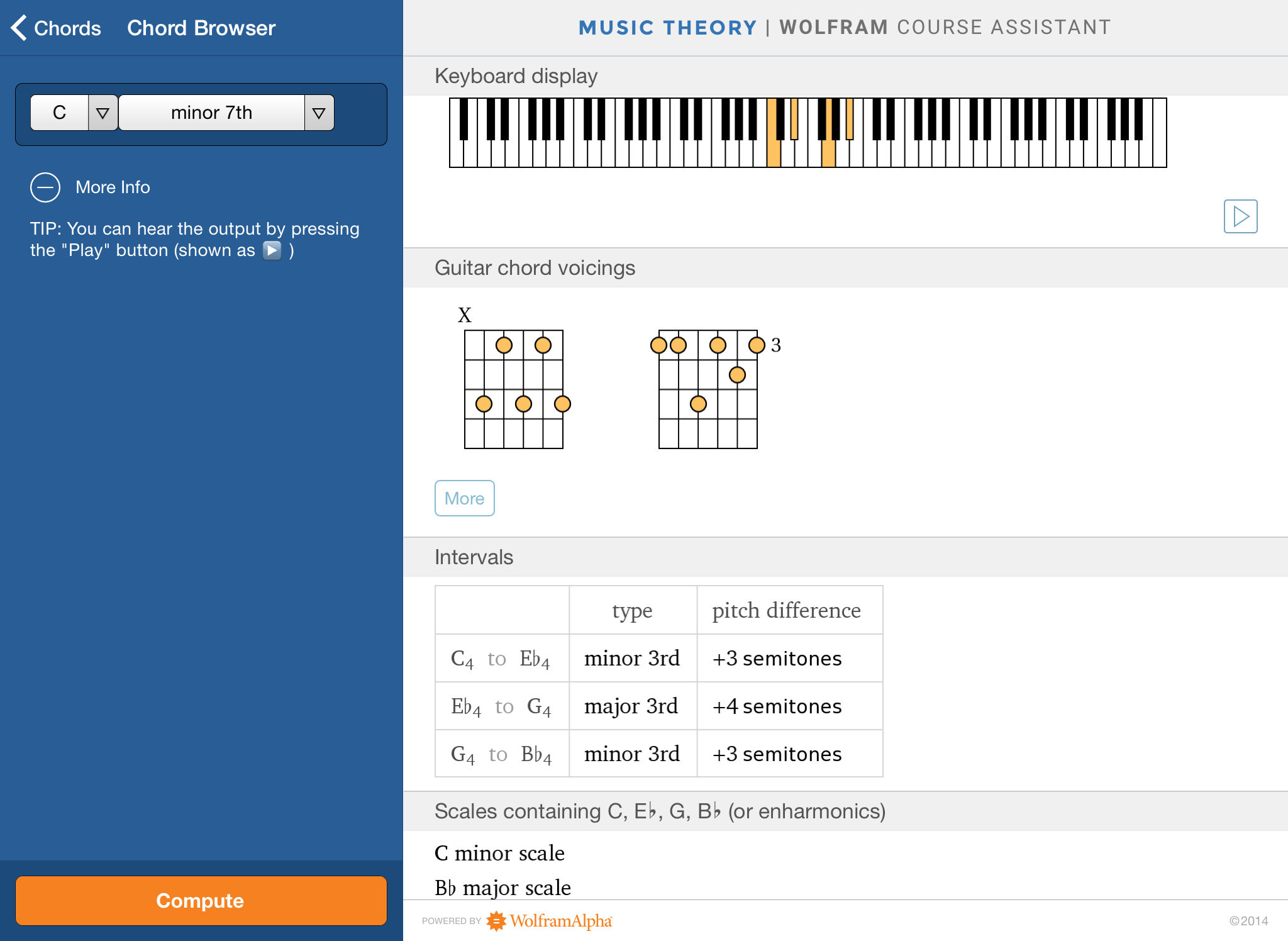 Wolfram Music Theory Course Assistant App Ranking And Store Data