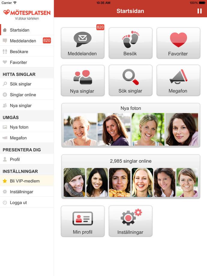 motesplatsen.se gratis dejting app