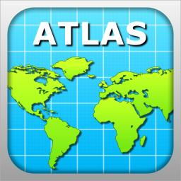 Atlas for ipad world maps facts statistics app ranking and atlas for ipad world maps facts statistics gumiabroncs Images