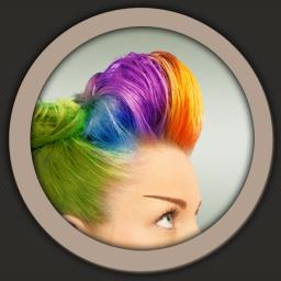 Hair Color Booth - iOS Store App Ranking and App Store Stats
