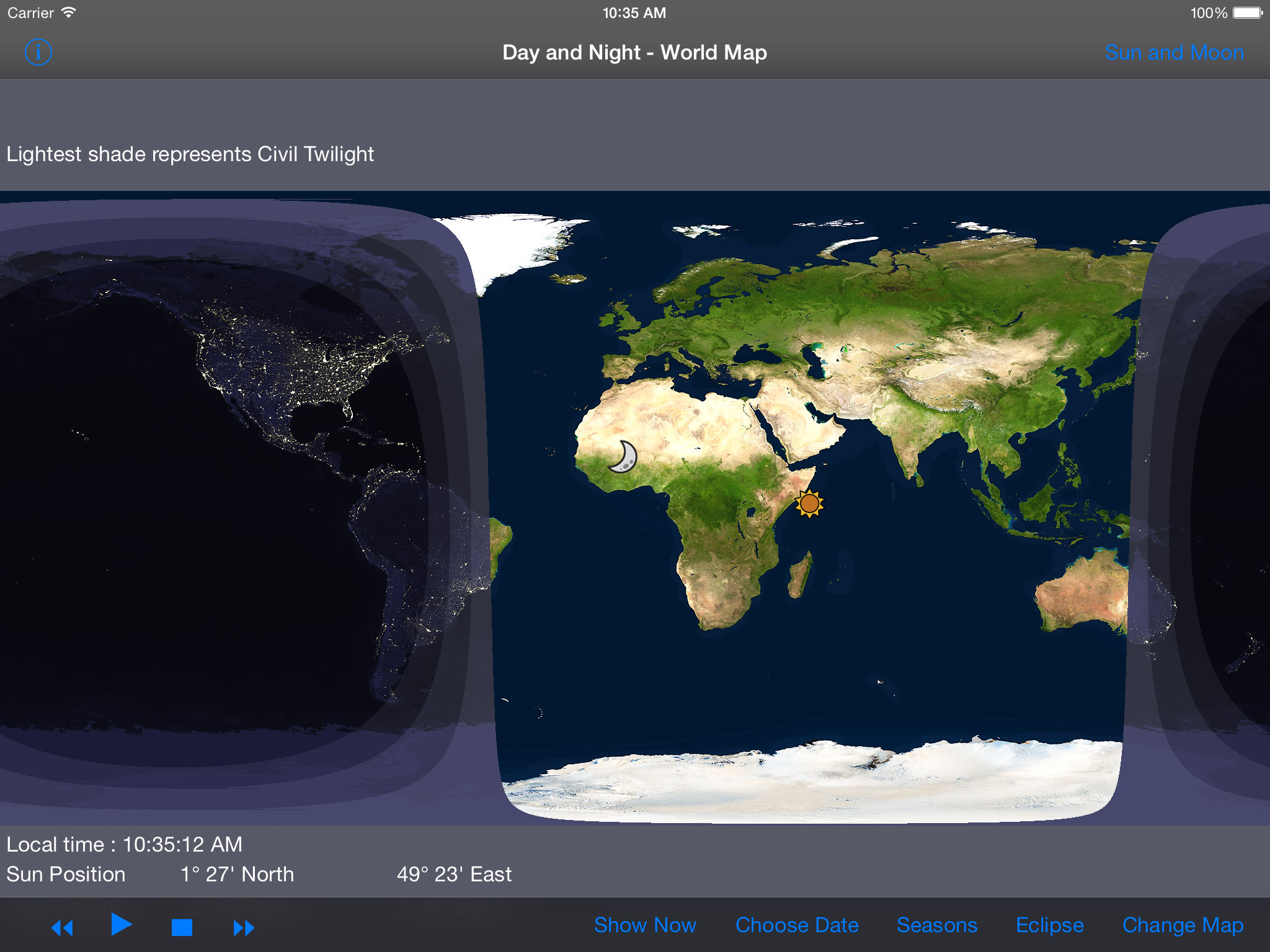 Day and night world map hd app ranking and store data app annie app description gumiabroncs Gallery