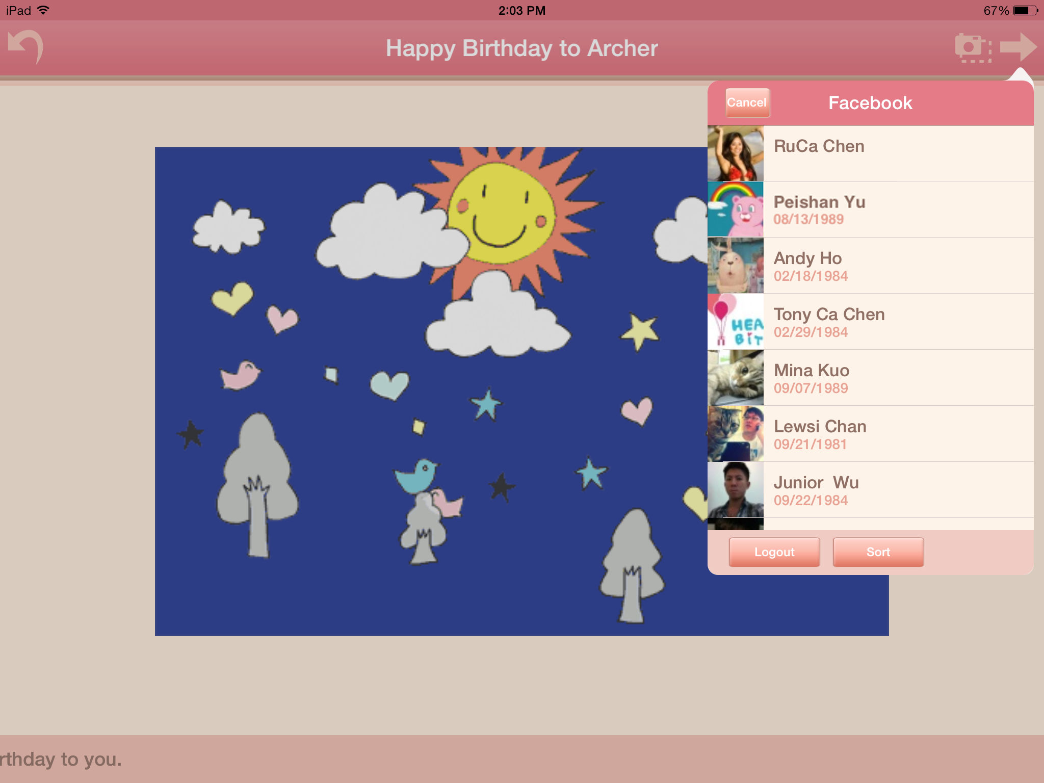 HeartyBit Animated greeting cards support munities sharing