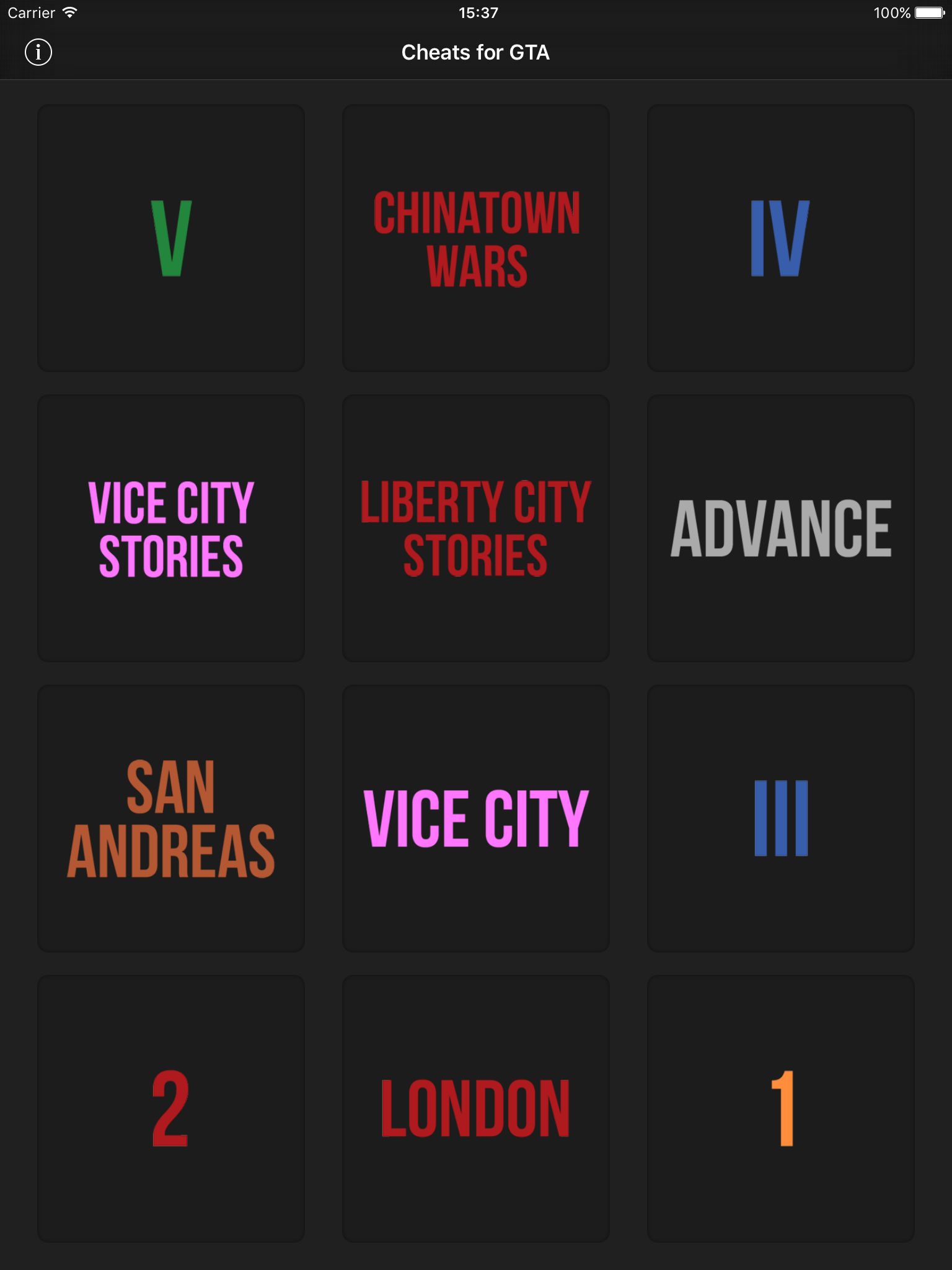 Cheats for GTA - for all Grand Theft Auto games App Ranking
