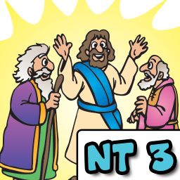 Children's Bible Stories (NT3 - Walking on Water, The Atonement, The Resurrection) - iOS Store App Ranking and App Store Stats
