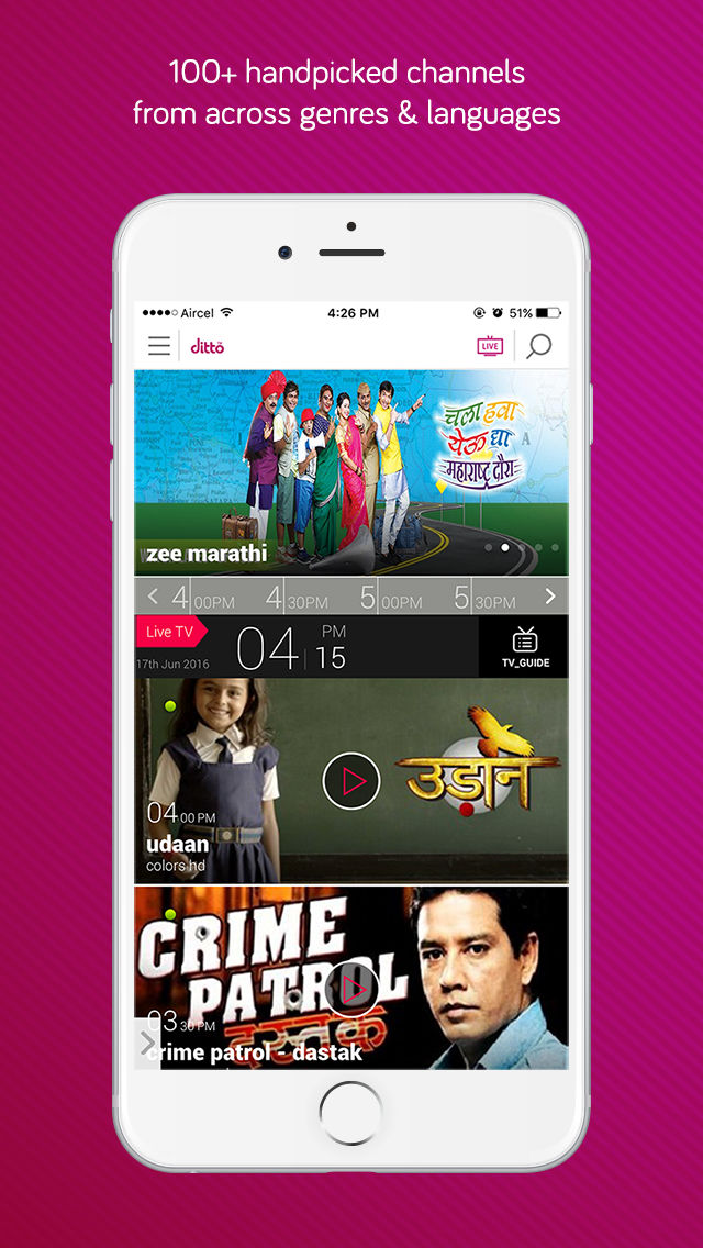 dittoTV – Free TV, Bollywood Movies, TV Shows and Videos