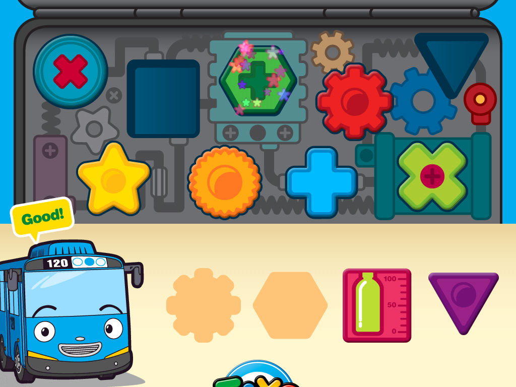 Tayo The Little Bus Car Wash Games