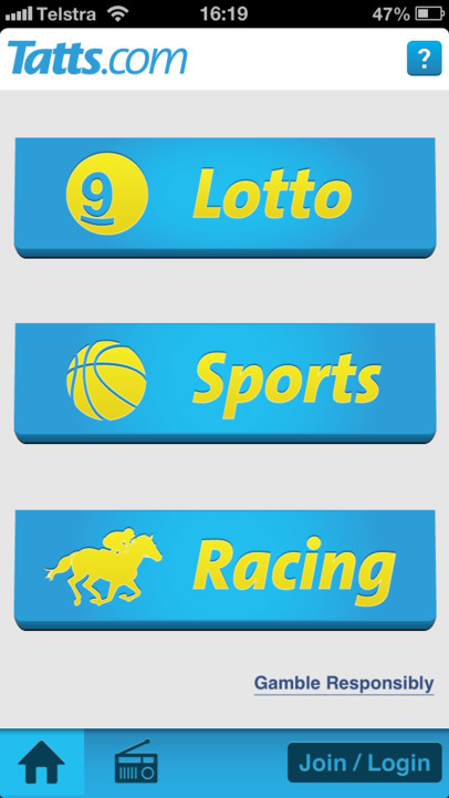lotto app ios