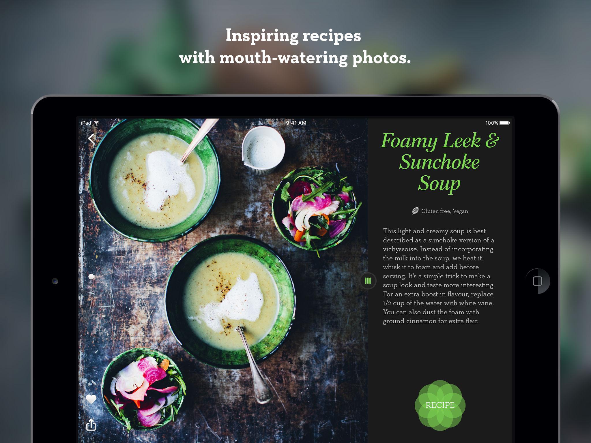 Green kitchen app ranking and store data app annie app description forumfinder Choice Image