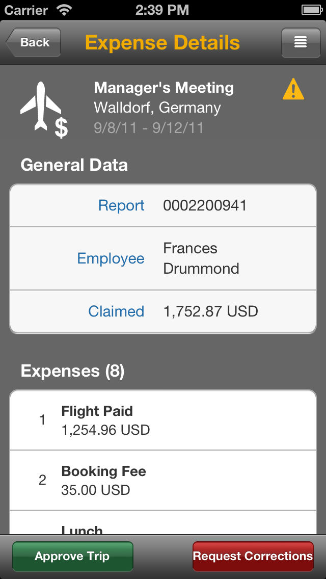 sap travel expense approval app ranking and store data app annie