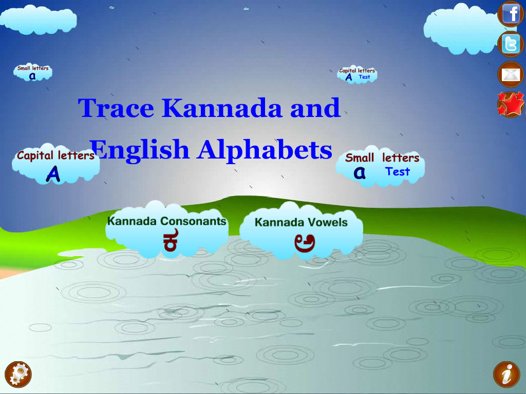 Trace Kannada and English Alphabets Kids Activity App Ranking and