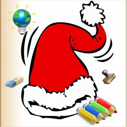 christmas colorings for kids with colored pencils 24 drawings to color with santa claus christmas trees elves and more