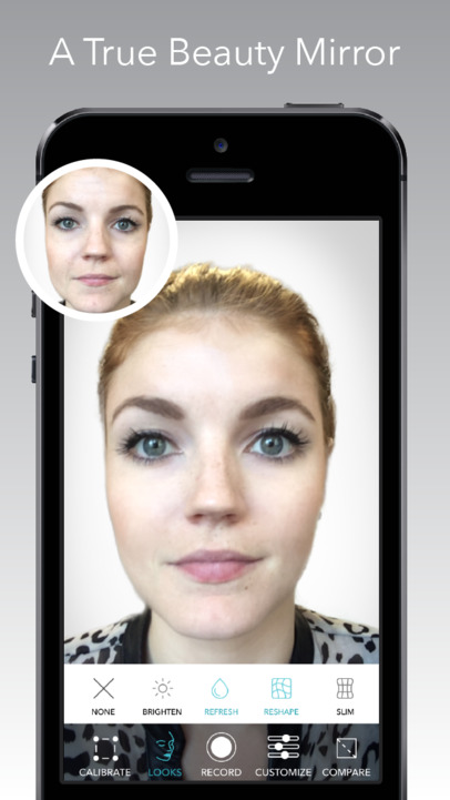 beauty mirror app ranking and store data app annie