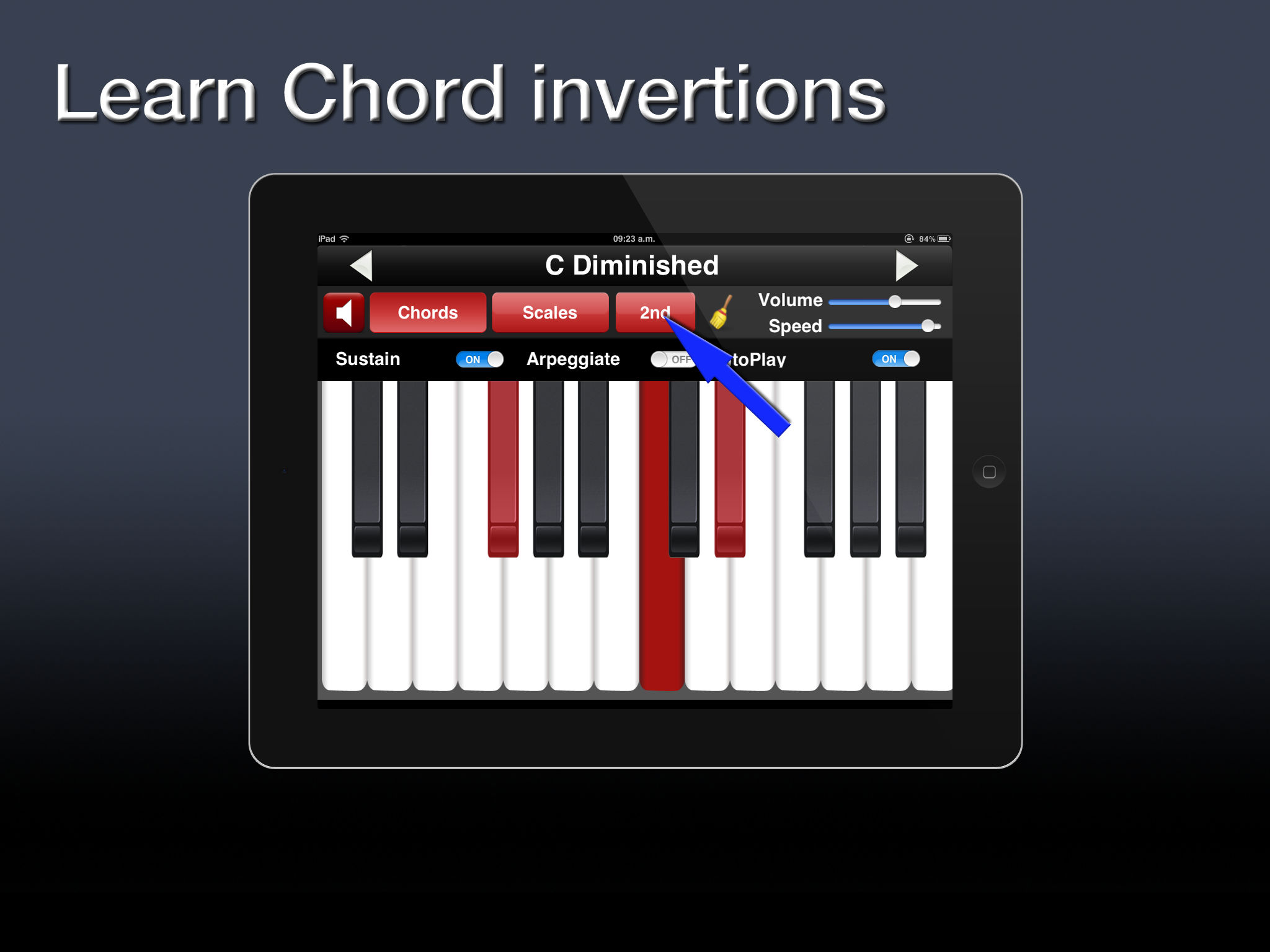 Piano chords scales app ranking and store data app annie app description hexwebz Gallery