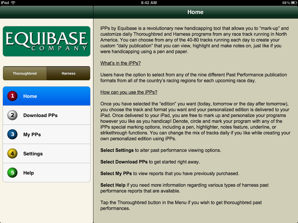 iPPs by Equibase App Ranking and Store Data | App Annie