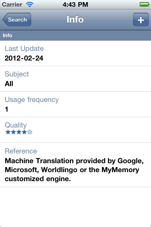 mymemory translate app ranking and store data app annie