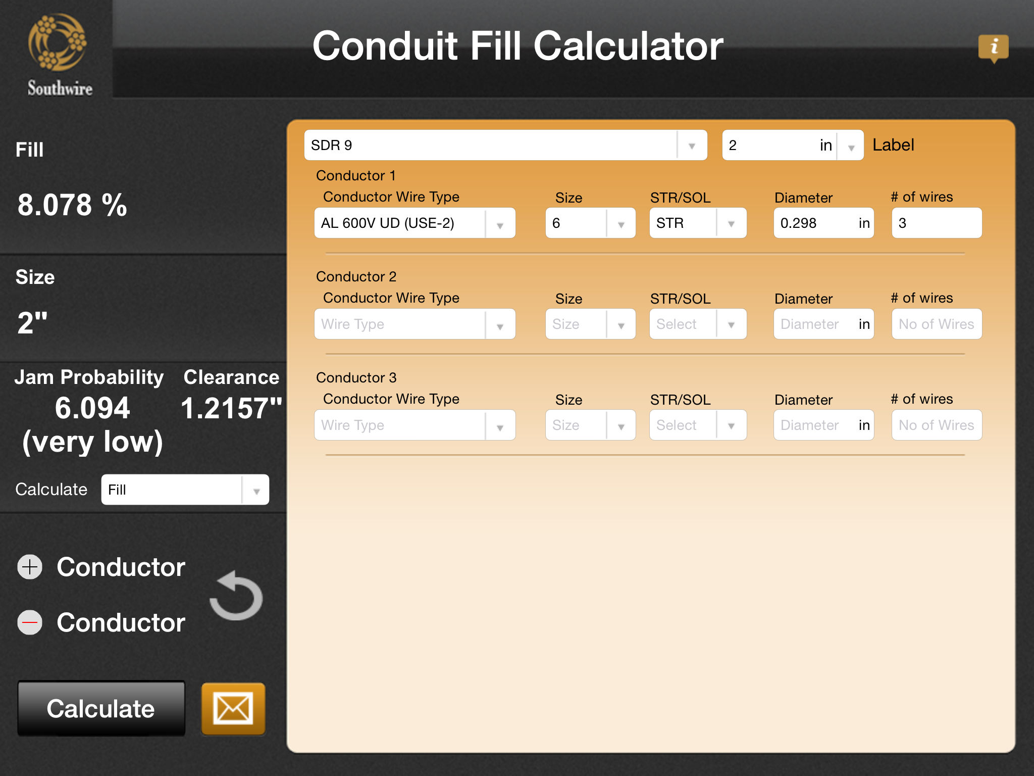 Southwire conduit fill calculator app ranking and store data app app description greentooth Images