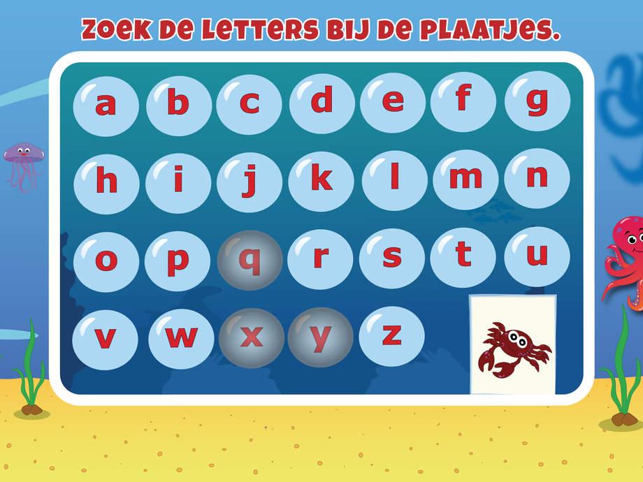 Letters flitsen voor kinderen - Juf Jannie