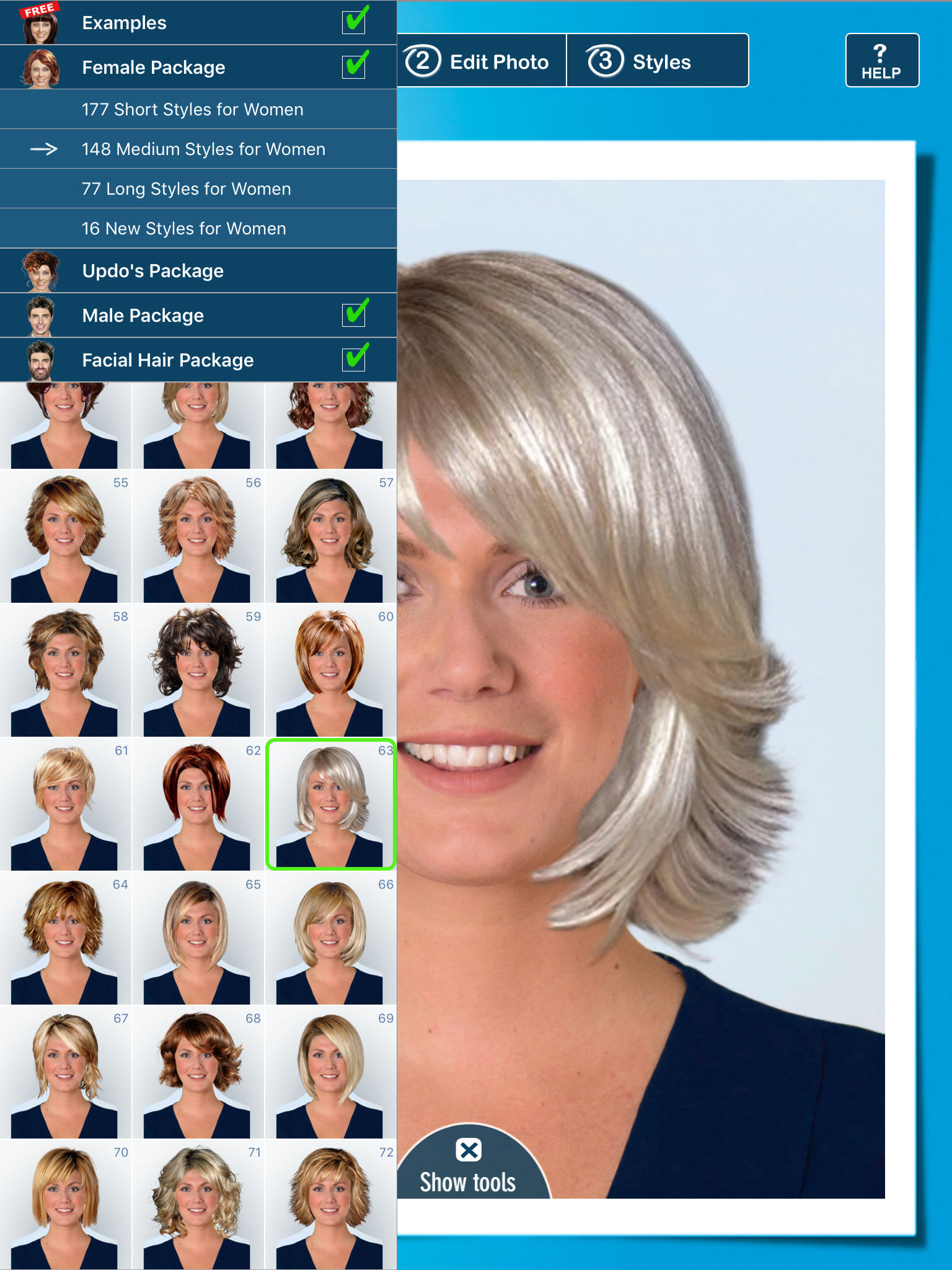 Hairstyle PRO Try On Hair Styles Men And Women App Ranking And