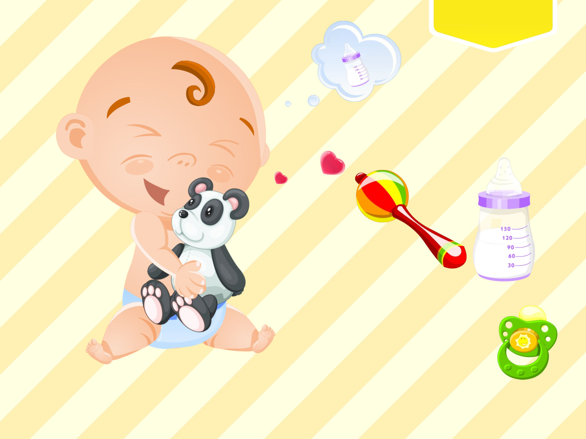 My Baby Friend Free cute and funny tickling game App Ranking and