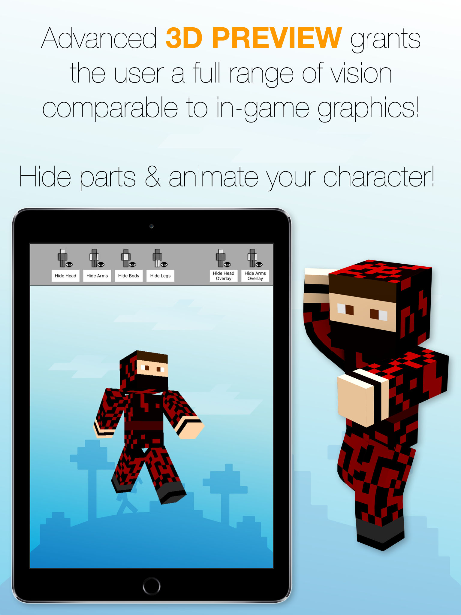Best Skins Creator Pro - for Minecraft PE & PC App Ranking and Store