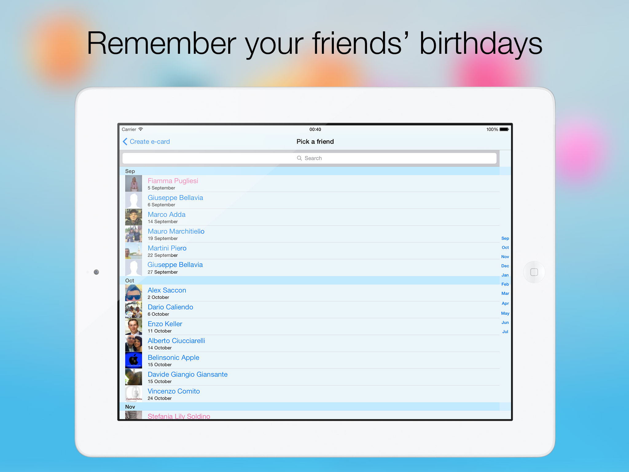 Birthday Songs with Calendar Happy Birthday Show App Ranking